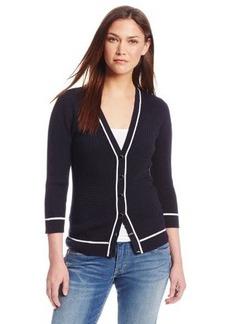 Jones New York Women's V-Neck Cardigan Sweater