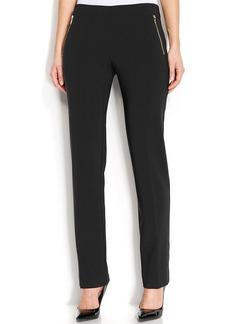 Alfani Petite Straight-Leg Comfort-Waist Pants