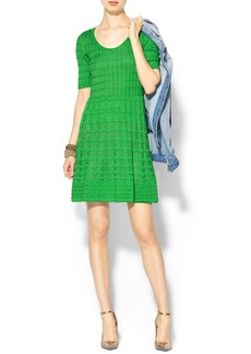 M Missoni Short Sleeve Knit Dress