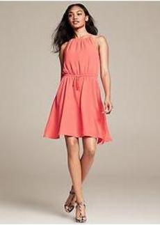 Cinch-Waist Dress