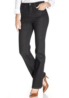 Style&co. Tummy-Control Bootcut Jeans, Black Wash