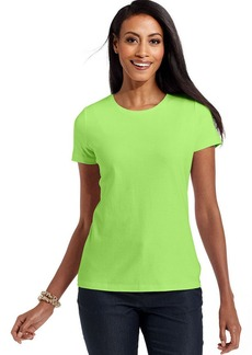 Charter Club Petite Top, Short-Sleeve Crew-Neck