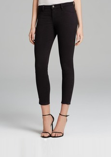J Brand Jeans - Luxe Twill Crop in Black