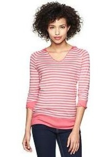 Stripe modal hoodie