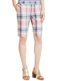 Tommy Hilfiger Plaid Bermuda Shorts