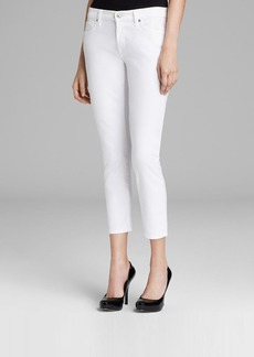 7 For All Mankind Jeans - Kimmie Crop in Clean White