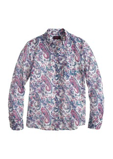 Boy shirt in Liberty Aaron paisley