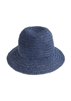 Crochet market paper hat
