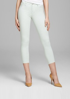 J Brand Jeans - Luxe Sateen 835 Mid Rise Crop in Aero