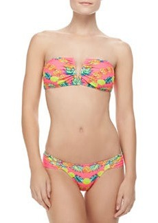 Mara Hoffman Ruched-Side Swim Bottom