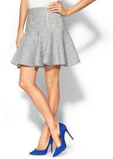 Rebecca Taylor Tweed Skirt w/ Zips