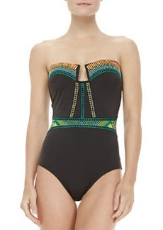 Nanette Lepore Mayan Riviera Goddess One-piece Swimsuit