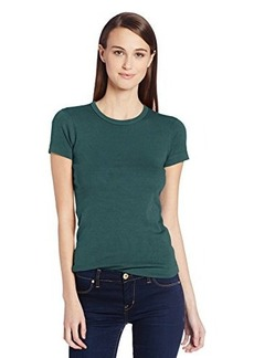 Three Dots Women's Short-Sleeve Crew-Neck Tee