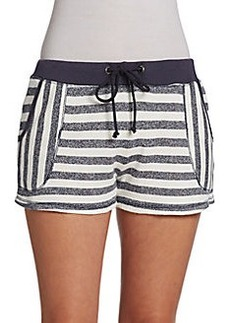 C&C California Striped French Terry Shorts