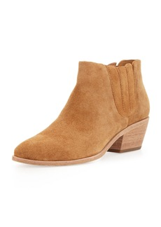 Joie Barlow Suede Stretch Ankle Boot