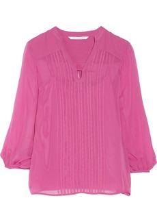 Diane von Furstenberg Tanyana silk-chiffon blouse