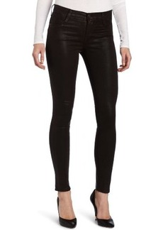 James Jeans Women's Twiggy Slicked Super-Skinny Jean in Java Coated