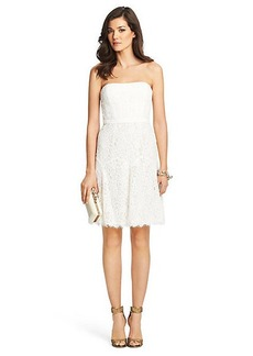 Amira Lace Strapless Dress