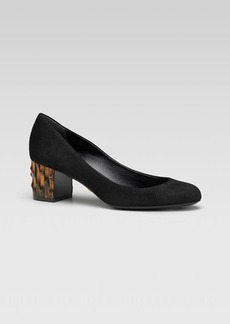 Gucci Dahlia Bamboo-Look Pump