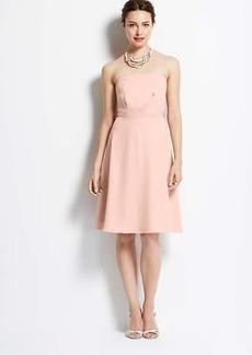 Strapless Flounce Dress