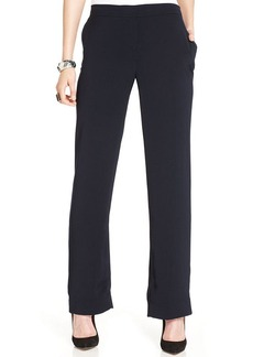 Jones New York Wide-Leg Soft Trouser