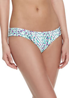 Shoshanna Occitan Ikat Twisted Bikini Bottom