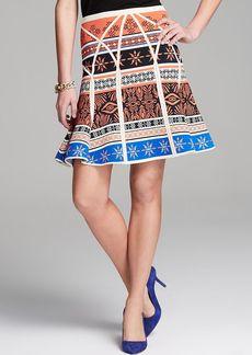 DIANE von FURSTENBERG Skirt - Samara Structured Printed