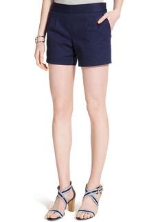 Tommy Hilfiger Textured Side-Zip Shorts