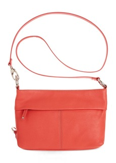 Tignanello Handbag, Item East West Leather Convertible Crossbody