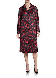 Michael Kors Pansy Duchess Satin Coat