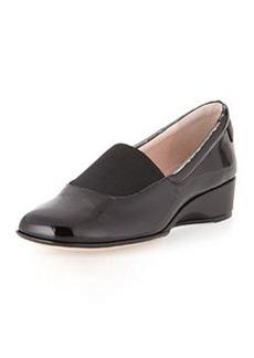 Taryn Rose Kendall Patent Loafer, Black
