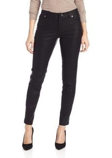 Calvin Klein Women's Faux-Leather skinny Pant