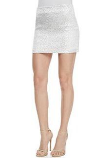 Elana Shiny Mini Skirt   Elana Shiny Mini Skirt