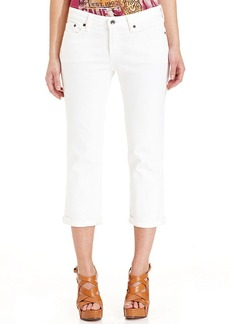 Lucky Brand Cropped Straight-Leg Jeans