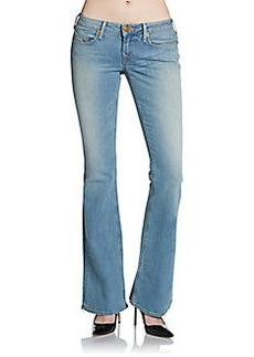 True Religion Bobby Lonestar Faded Flared Jeans
