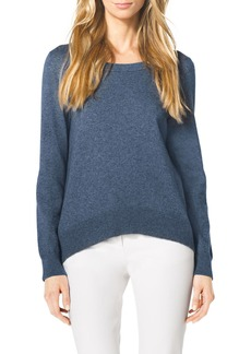 Michael Kors Arch-Hem Knit Sweater