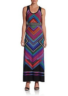 Calvin Klein Jersey Maxi Dress