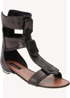 Derek Lam Kaia Double-Tab Gladiator Sandals