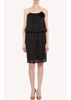 Lanvin Blouson-bodice Dress