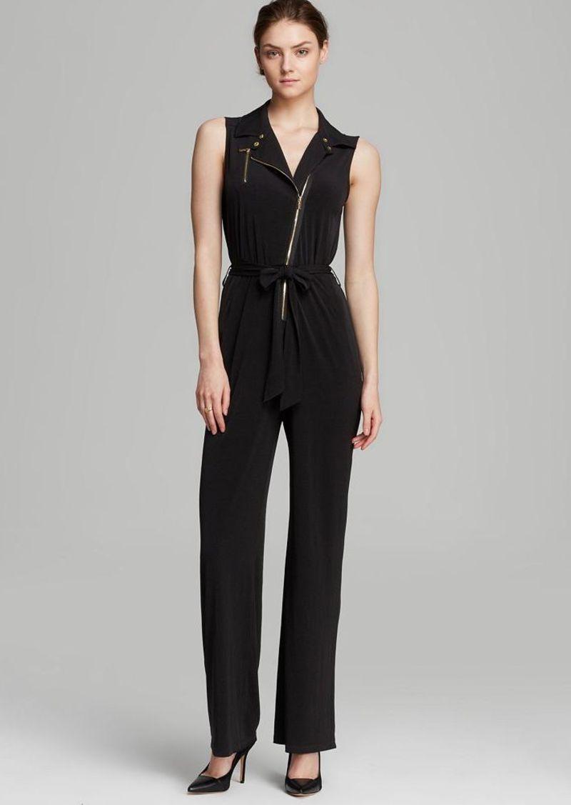Calvin Klein Moto Zip Jumpsuit