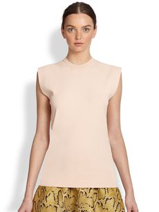 Stella McCartney Sleeveless Basic Top