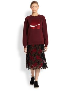 Marc Jacobs Lily Guipure Skirt