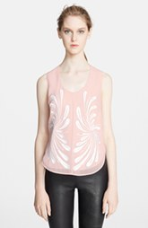 Robert Rodriguez Dandelion Embroidered Tank