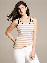 Piped Striped Timeless Tank