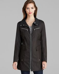 Marc New York Jacket - Roni City Zip Front Rain