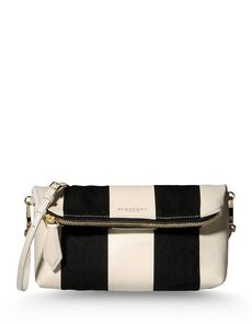 BURBERRY PRORSUM Canvas Logo detail Print Leather applications Two-tone pattern Zip closure Internal zip pocket Removable shoulder strap Handbags Medium Canvas not made of fur