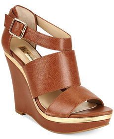 INC International Concepts Women's Camie Platform Wedge Sandals