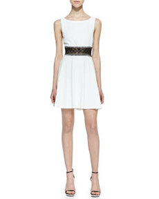 Rowan Lace-Waist Dress   Rowan Lace-Waist Dress