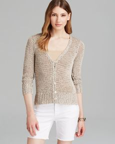 Eileen Fisher V Neck Cardigan