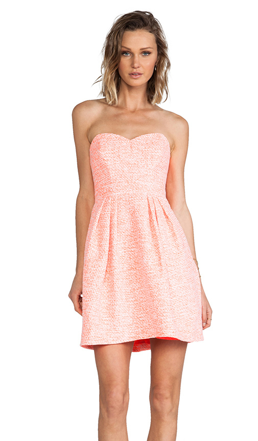 Shoshanna Megan Dress in Orange